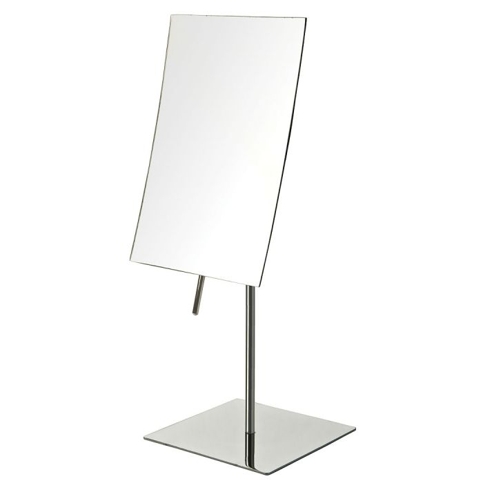 Jerdon Edge-to-Edge Frameless 3x Vanity Mirror - 2 Finishes