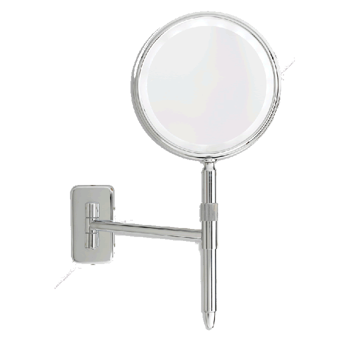 Danielle Creations Combo Wall-Mount/Hand-Held 5x/1x Reversible LED Mirror