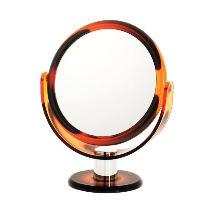 Swirl Design 10x Round Vanity Mirror, D1068 Series by Danielle Creations