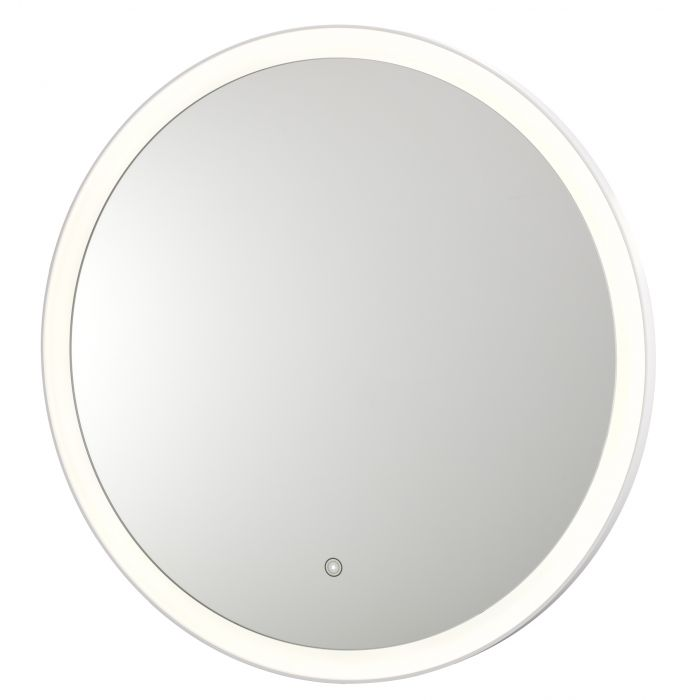 Sergena Round LED Backlit Hardwired Wall Mirror 36WBL