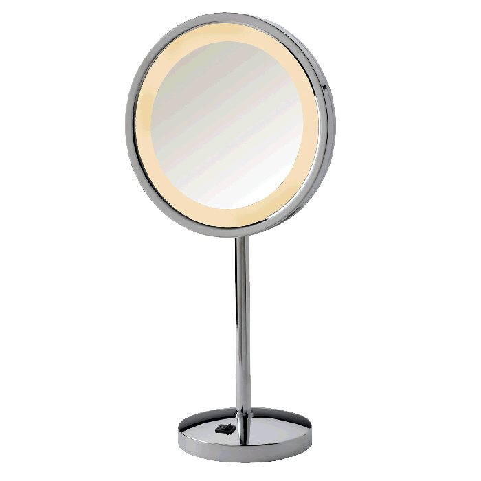 Jerdon Extra-Tall 5x LED-Lighted Vanity Mirror