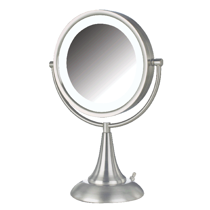 Jerdon 8x/1x Reversible LED Lighted Vanity Mirror