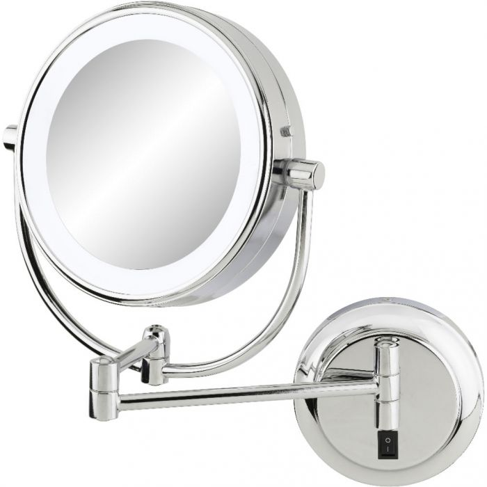 Kimball & Young Hardwire 5,500k Daylight LED Makeup Mirror, 3 Finishes