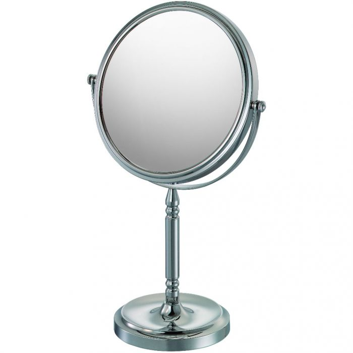 Kimball & Young Mirror Image 10x-1x Recessed Base Reversible Polished Chrome Vanity Mirror 86640