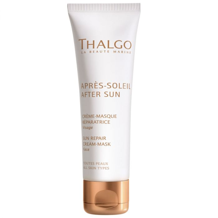 THALGO After Sun Repair Cream-Mask  - Soothes the Skin and Prolongs the Tan
