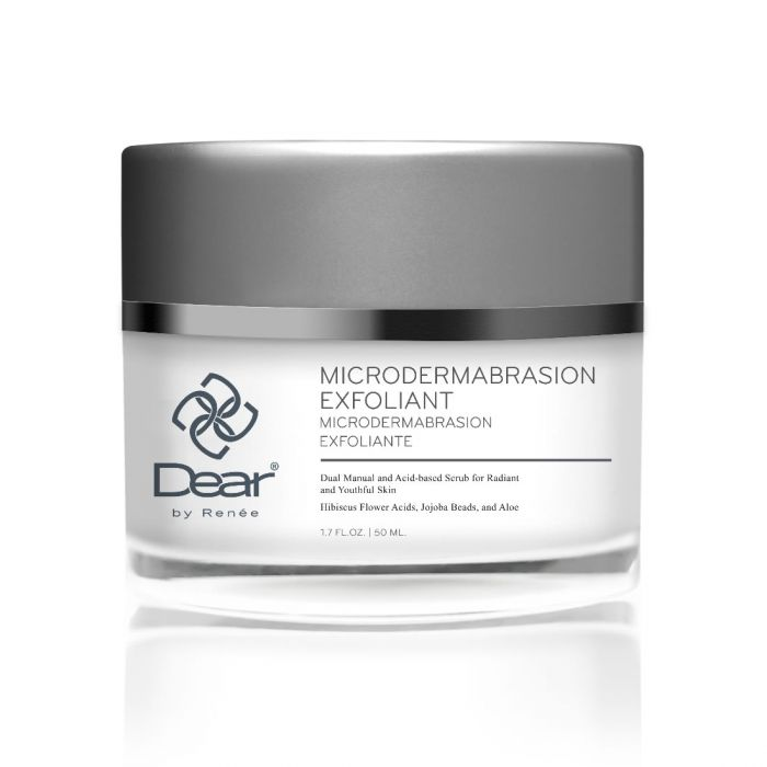 Dear by Renee Microdermabrasion Exfoliant - Anti-Aging, Anti-Acne, Hydrating, Brightening