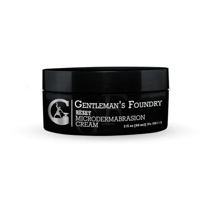 Gentleman's Foundry Reset Microdermabrasion Cream - Powerful Dead Cell Removal