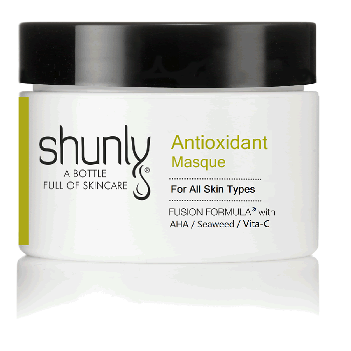 Shunly Antioxidant Masque with AHA Exfoliation and Antioxidant Without Irritation