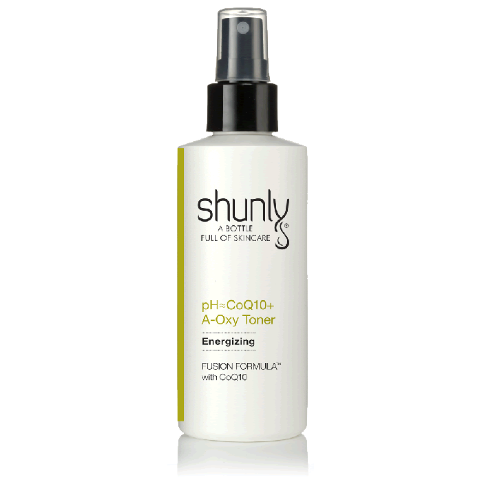Shunly pH=CoQ10+ A-Oxy Toner Protects the Skin and Energizes