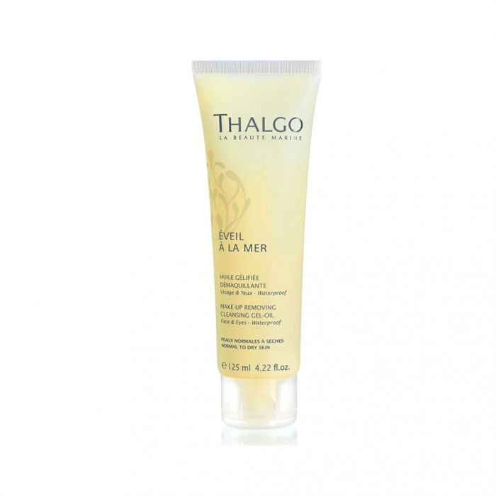 THALGO Make-Up Removing Cleansing Gel-Oil is Very Effective and Won't Dry Your Skin