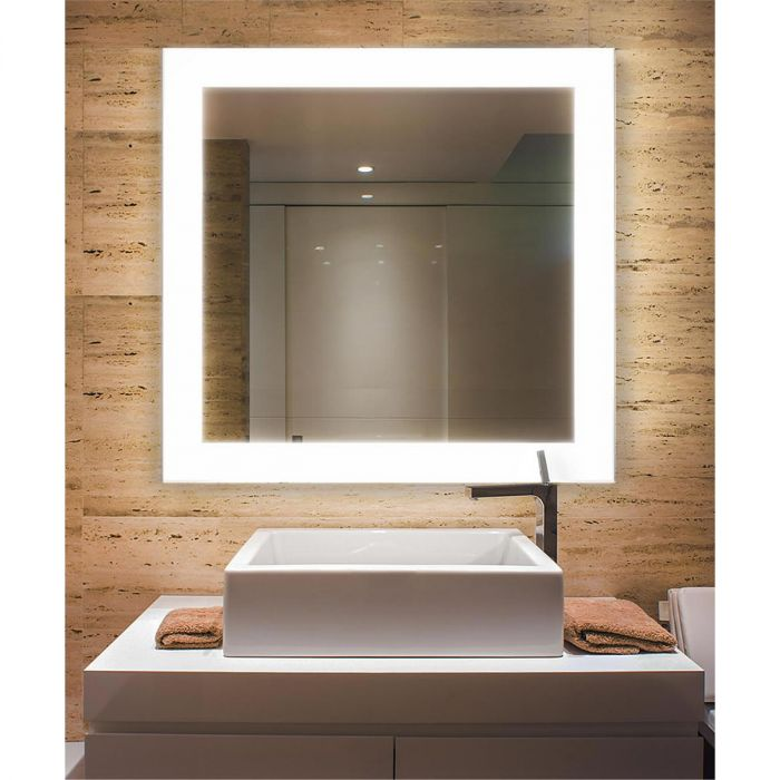 Cordova Celestino Backlit LED Mirror Wiith Natural Surround Lighting