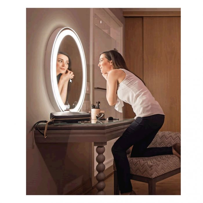 Electric Mirror Eternity + AVA Backlit Natural-Light LED Mirror - 3 LED Color Settings