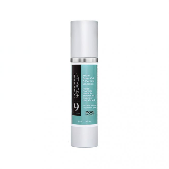 More Hair Naturally 9 Triple Stem Cell & Peptide Complex